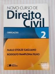 Título do anúncio: Livro de Direito Civil
