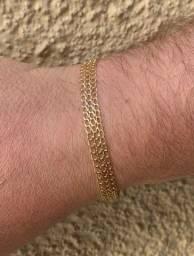 Pulseira ouro 18k750