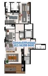 Título do anúncio: Apartamento 3 Quartos no Alto do Setor Bela Vista