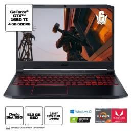 Título do anúncio: Notebook Gamer Aspire Nitro 5 AN515-44-R8HN AMD Ryzen 7