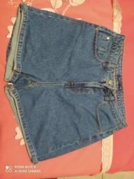 Vendo short jeans tamanho 44
