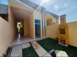 DP casa nova com 2 quartos 2 banheiros em rua privativa a 10 minutos de messejana