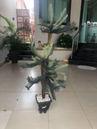 Planta artificial com jarro