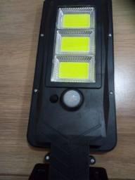 Luminária energia solar