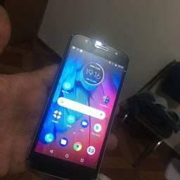 Moto G5 s tela trincada mais da pra usar normalmente