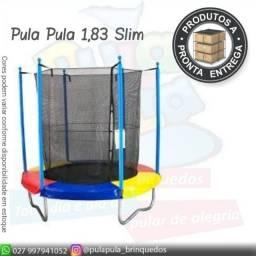 Título do anúncio: Promoção Relampago Pula pula 1,83m Slim (rede alta mais segura) A pronta entrega!!