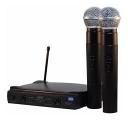 Par de microfones sem fio. Original Lelong 50 metros