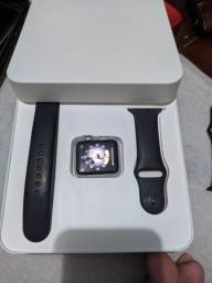 Título do anúncio: Apple watch funcionando tudo iCloud livre aceito trocas Cartão!
