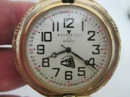 ebb9a7cd444 Relógio de bolso Hour Glass quartz - águia americana (não funciona)