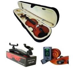 Violino 4/4 estudante completo