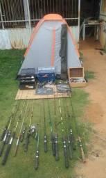 Material de pesca completo