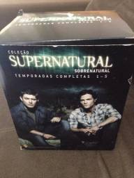 Box Seriado Supernatural