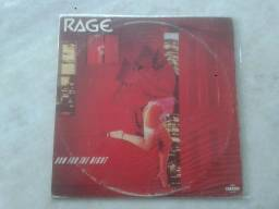 Rage - Run For The Night 1985 Lp Nacional