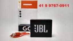 Jbl Go Preta Bluetooth Caixa De Som Novo Original Lacrado