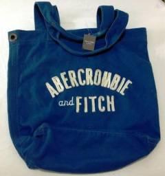 Bolsa Abercrombie And Fitch Azul Original