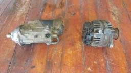 Motor de partida e alternador Retro LB 90 New Holland usados