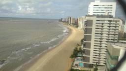 Apartamento a beira-mar de Piedade em andar alto, 4 quartos (4 suítes) com área de lazer