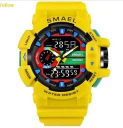 Relógio Smael SL1436-Analógico e Digital