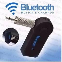 Receptor Bluetooth Adaptador de Música P2 Som Carro Só Hoje
