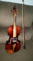 Violino 4/4 Luthier Nhureson completo!