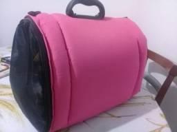 Bolsa De Transporte De Gatos - Animais / cor rosa