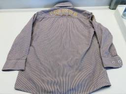 Camisa ML VRKIDS tam 8