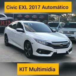 HONDA CIVIC 2017/2017 2.0 16V FLEXONE EXL 4P CVT - 2017