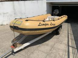Bote inflável com carretinha - Troco por jetski! - 2010