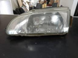 Farol esquerdo Honda Civic 1992 a 1995