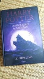 Livro capa dura semi-novo Harry Potter e o prisioneiro de Azkaban