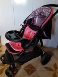 Carrinho Travel System Nexus Cosco - Rosa E Preto Usado !!!!!!!!