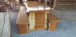 Mesas em madeira com preço de fábrica