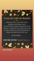 Cesta de Café da Manhã + Brinde
