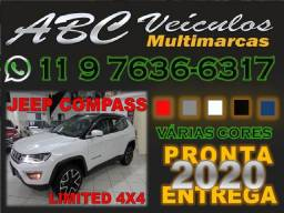 COMPASS 2020/2020 2.0 16V DIESEL LIMITED 4X4 AUTOMÁTICO