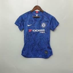 Camisa Feminina Chelsea Home 19/20