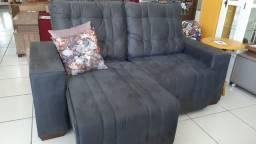 Sofá retrátil e reclinável - A pronta entrega, garanta o seu!