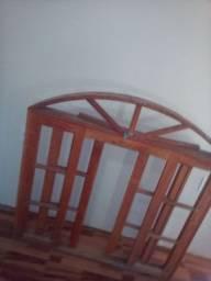 Janela de madeira madeira nobre janela de angelim