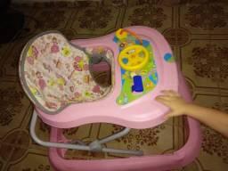 Andajá e Cadeira de descanso Baby