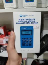 Máquina de cartão bluetooth uso com celular