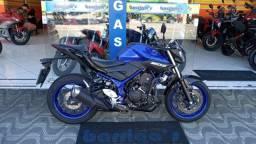 Yamaha Mt 03 Abs 2020 Azul com Garantia de Fábrica