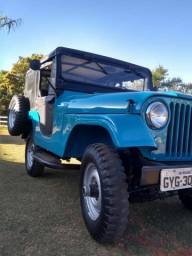 Jeep todo original perfeito