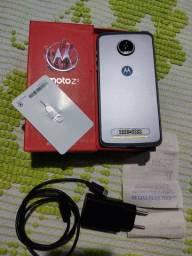 Moto z2 play 64gb 4ram top na caixa com carregador turbo original nota fiscal capinha