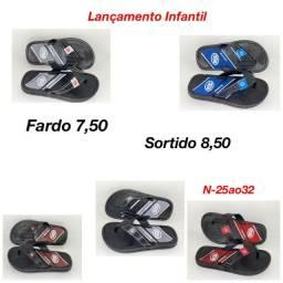 Sandálias infantil no atacado direto da fábrica