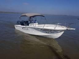 lancha de pesca tipo fishing 22
