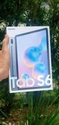 Tab S6 128gb 6gb RAM Novo Lacrado 12x sem JUROS