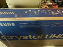 "Smart Tv Samsung Crystal UHD 4K LED 65"" un65tu8000 - Lacrado - Nota F 1 Ano Garantia"