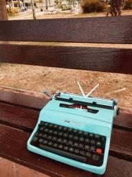 Garantimos seu funcionamento Maquina de escrever antiga - antiguidade