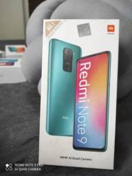 INVENCÍVEL# Redmi da Xiaomi.. Redmi Note 9.. NOVO LACRADO COM GARANTIA e entrega