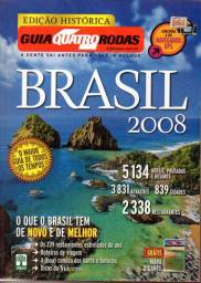 Guia Quatro Rodas Brasil 2008 (sem o Mapa)