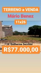 TERRENO A VENDA no  MÁRIO BENEZ QUITADO